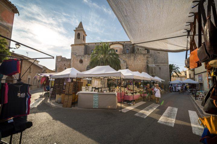 Markt Puerto Pollensa Mallorca