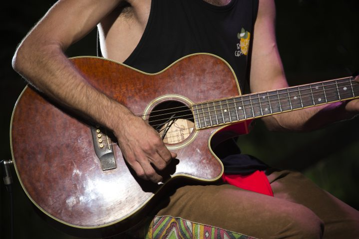 Gitarrenspieler Mallorca