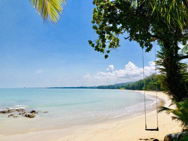 Schaukel am Strand von Thailand