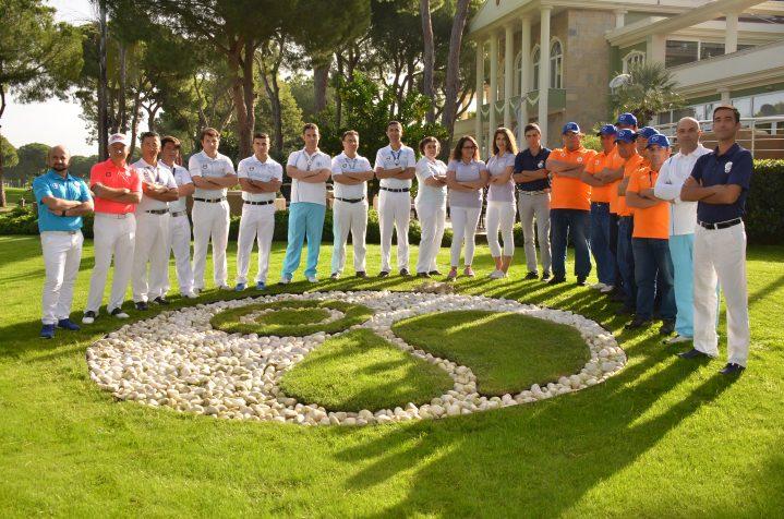 Crewoutfit der ROBINSON Golfmitarbeiter