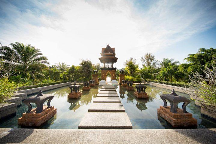 Thai Pond Tempel ROBINSON Club Khao Lak