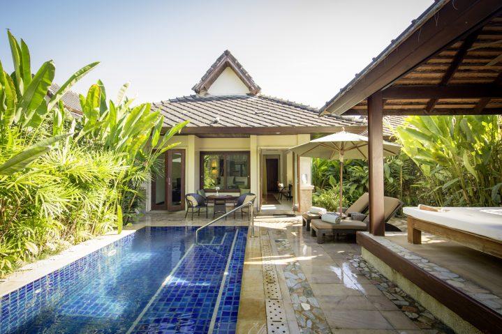 Villa mit Pool im Club Khao Lak