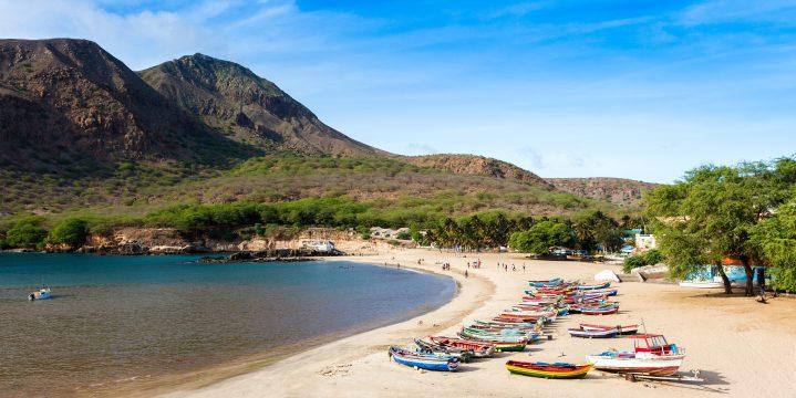 Strand von Santiago Kapverden