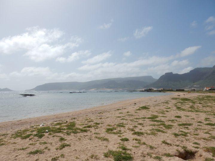 Strand von Sao Vicente Kapverden