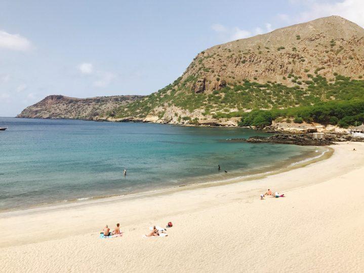 Strand Tarrafal auf der Insel Santiago Kapverdische Inseln