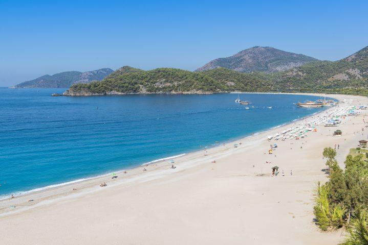 Ölüdeniz Strand in der Türkei