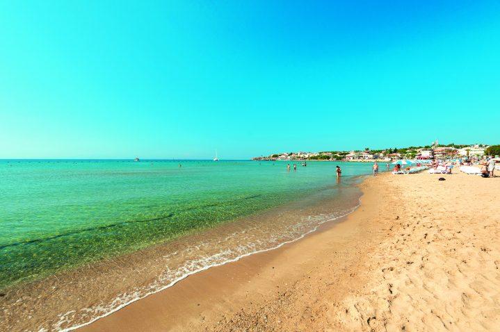 Altinkum Strand in der Türkei