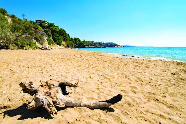 Incekum Strand an der Türkischen Riviera