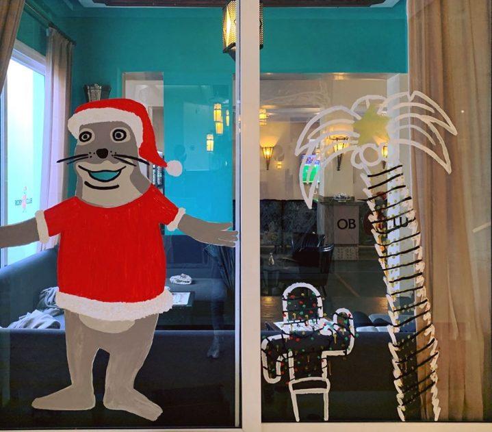 ROBY Weihnachtsdeko im Club Agadir Marokko