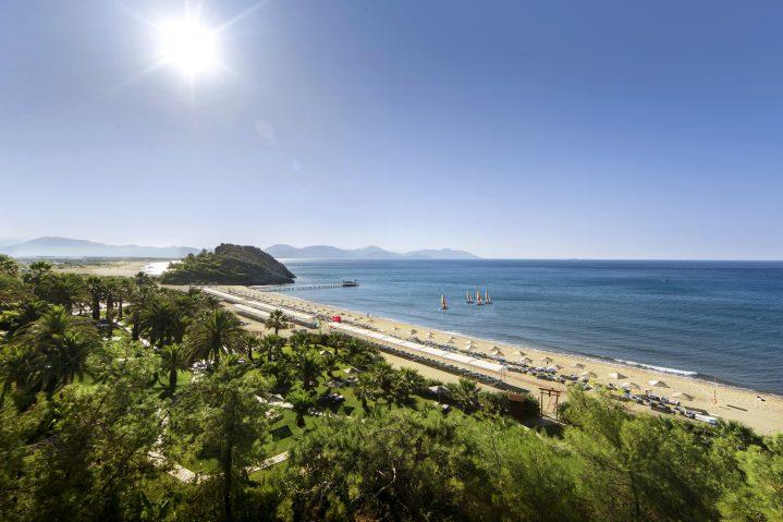 Sarigerme Strand in der Türkei