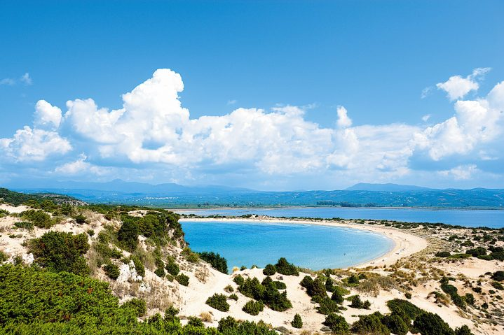 Bucht von Voidokilia, Peloponnes, Griechenland