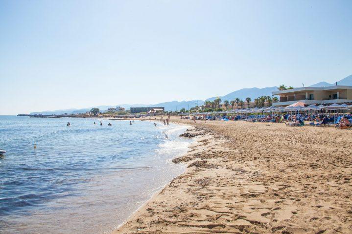 Strand in Malia auf Kreta