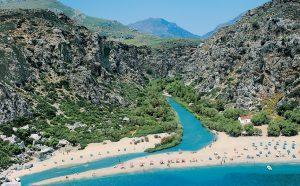 Preveli Strand auf Kreta