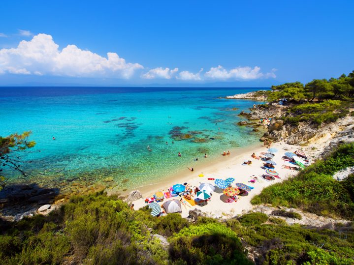 Kreta Strand auf Chalkidiki