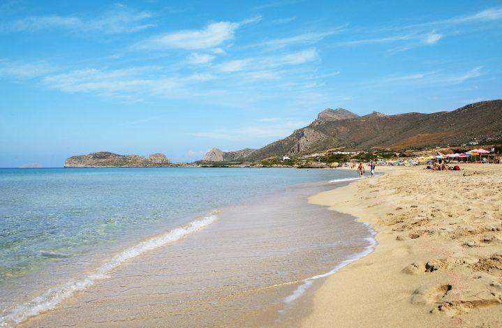 Falassarna-Strand auf Kreta