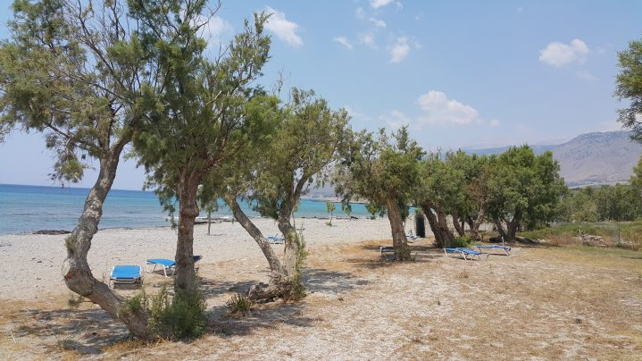 Frangokastello-Strand auf Kreta