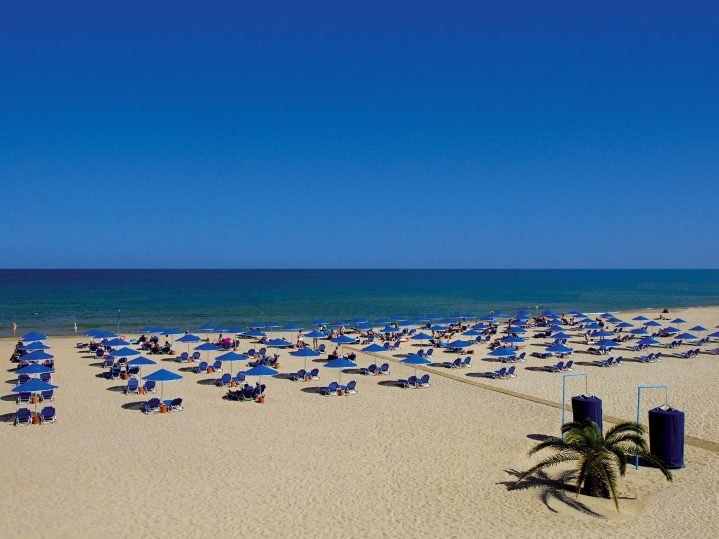 Georgioupoli-Strand auf Kreta