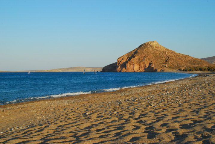 Kouremenos-Strand auf Kreta: perfekt für Wassersportler