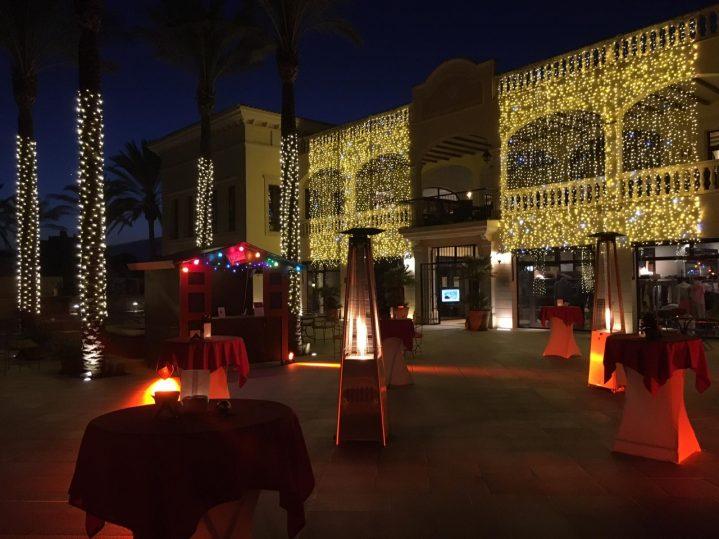 Festliche Weihnachtsbeleuchtung im ROBINSON Club Cala Serena