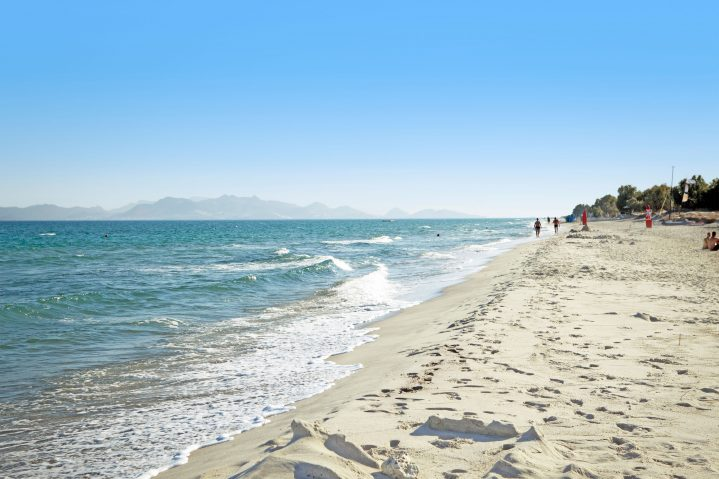 Strand in Marmari auf Kos