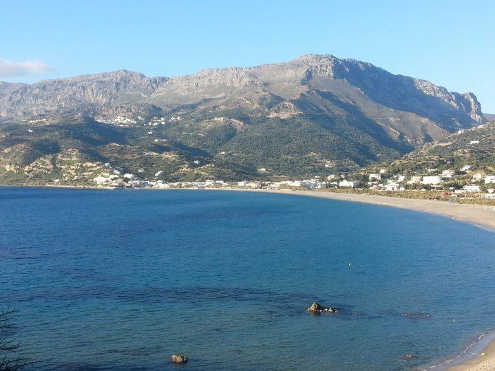 Plakias-Strand auf Kreta