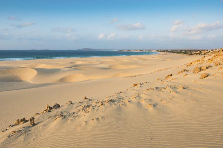 Sanddünen in Boa Vista auf den Kapverden