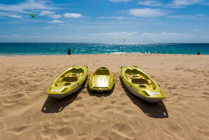 Strand in Santa Maria auf Sal Kapverden
