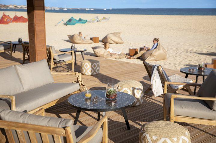Beachbar des ROBINSON Club Cabo Verde, Sal, Kapverden