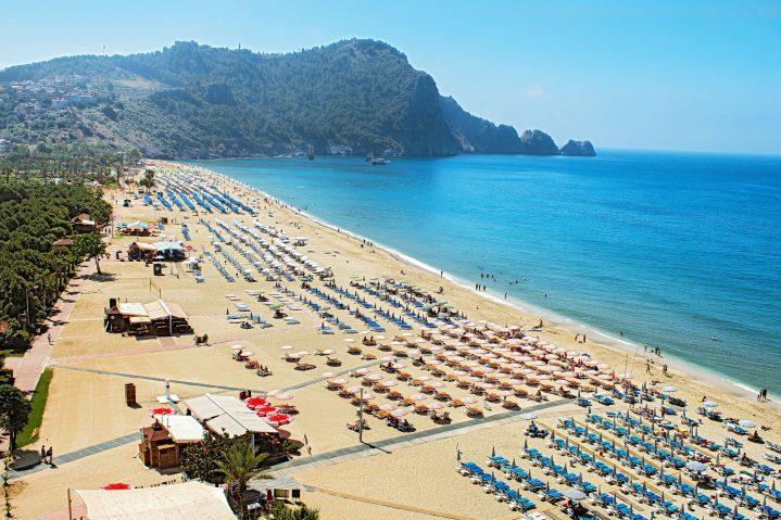 Kleopatra Strand, Antalya, Türkei