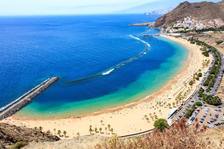 Aussichtpunkt Las Teresitas, Teneriffa, Kanarische Inseln
