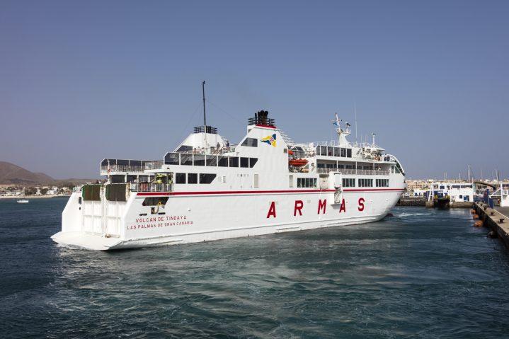 Armas Fähre nach Fuerteventura, Kanarische Inseln