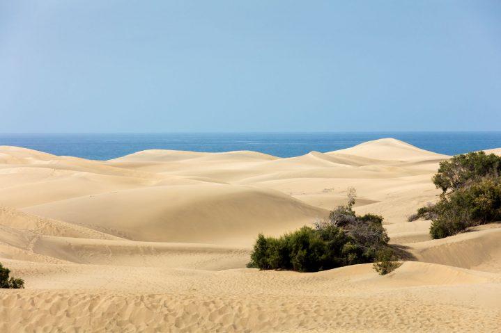 Sanddünen von Maspalomas, Gran Canaria, Kanarische Inseln