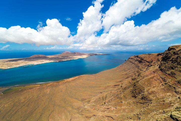 Aussichtspunkt Mirador del Rio,Lanzarote, Kanarische Inseln