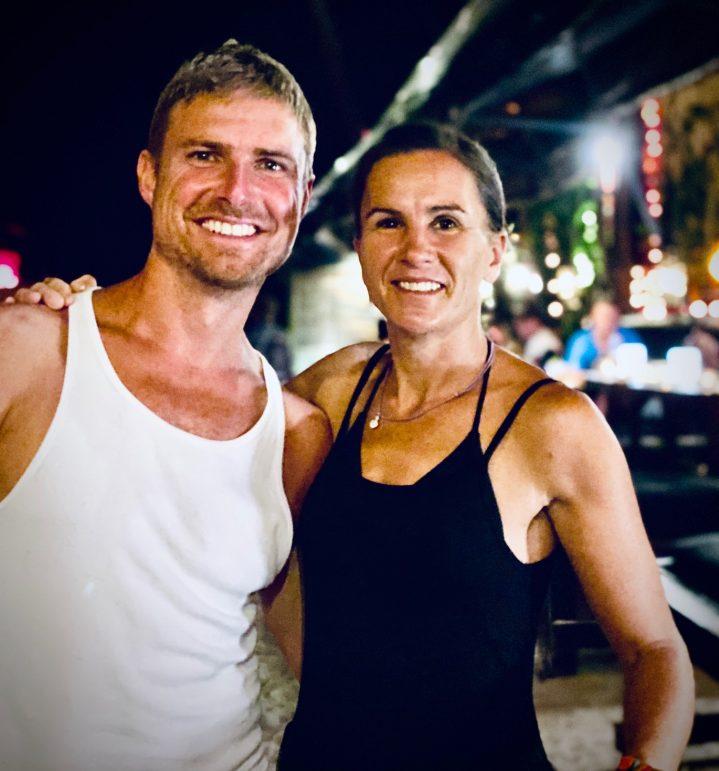 TV-Schauspieler Leo Reisinger mit seiner Ehefrau MAareike