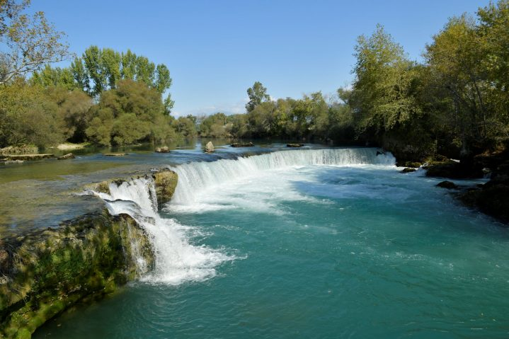 Manavgat Wasserfall in der Türkei