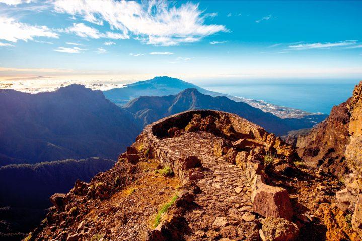 Aussichtspunkt Roque de los Muchachos auf La Palma, Kanarische Inseln