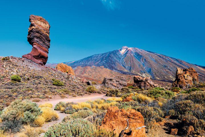 Blick auf den Pico del Teide, Teneriffa, Kanarische Inseln