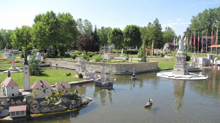 Minumundus Miniatupark in Klagenfurt,Österreich