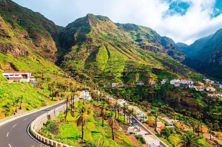 Valle Gran Rey auf La Gomera, Kanarische Inseln