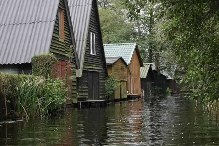 Bootshäuser im Müritz Nationalpark