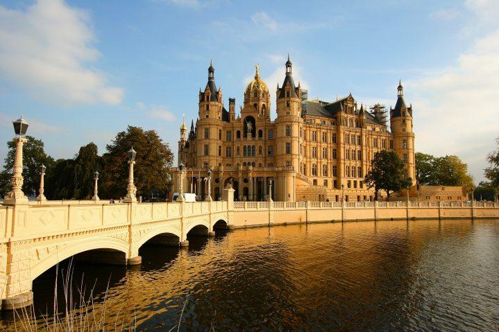 Schloss Schwerin - Sitz des Landtages von Mecklenburg-Vorpommern