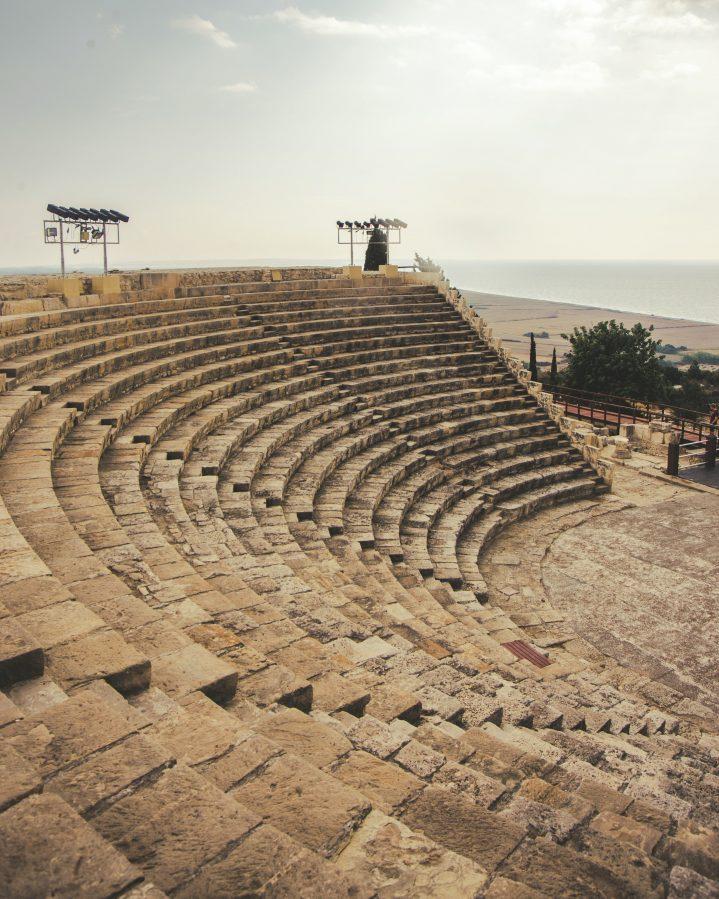 Antikes Amphitheater in Kourion Zypern