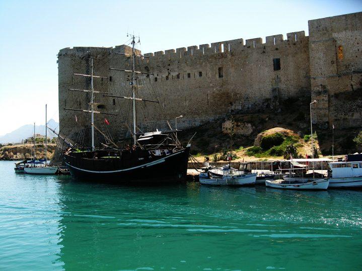 Festung Kyrenia auf Zypern