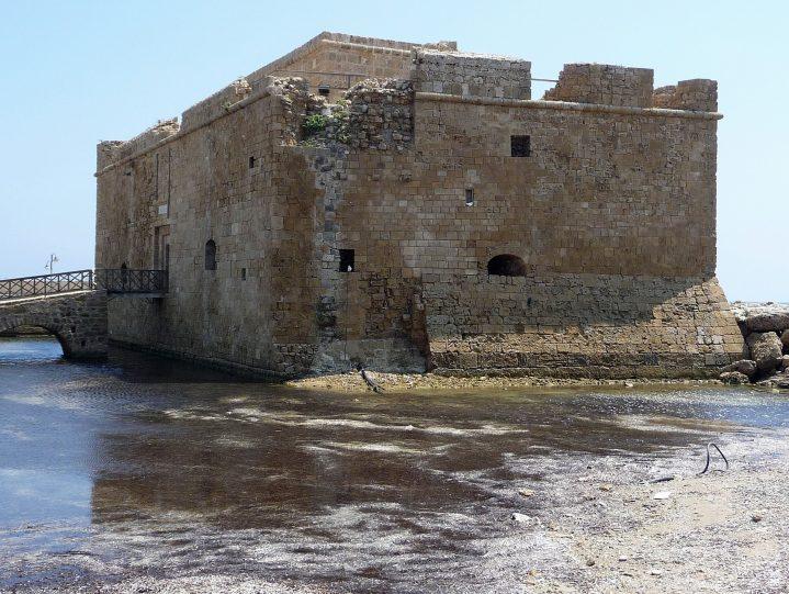 Festung in Paphos auf Zypern