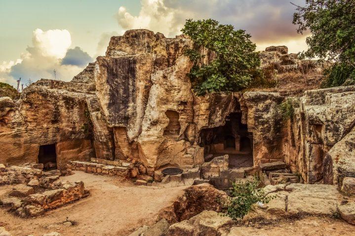 Königsgräber in Paphos auf Zypern