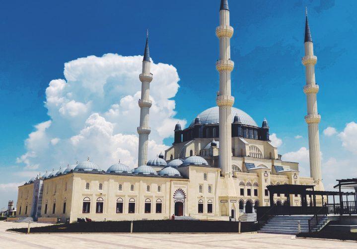 Hala Sultan Camii Moschee in Lefkosa auf Zypern
