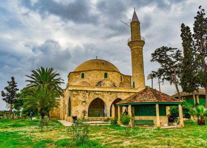 Hala Sultan Tekke Moschee Larnaca Zypern