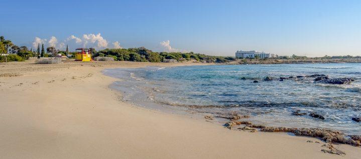 Landa Beach auf Zypern