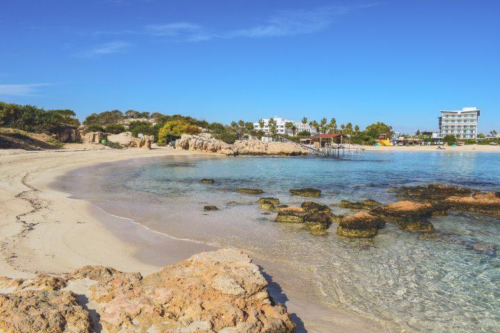 Makronissos Bucht auf Zypern