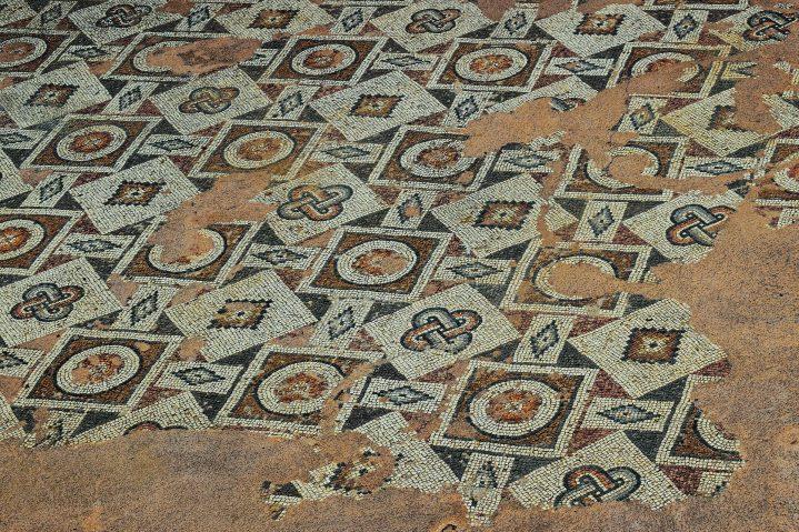Mosaike in Paphos auf Zypern
